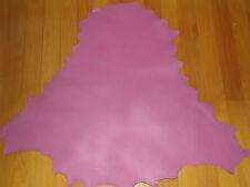 DUSTY PINK Kangaroo leather VEG TANNED 800 mm x 800 mm lace plait braid chap bag