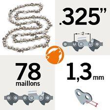 """Chaîne tronçonneuse KERWOOD 78 maillons 0,325"""", 1,3mm"""