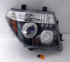 05-10 Nissan Navara Black Projector Halo Headlights