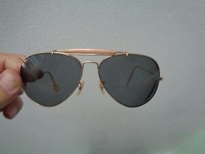 VINTAGE RAY BAN SUNGLASSES OUTDOORSMAN 2 THEY HAVE STRONG PRESCRIPTION LENSES