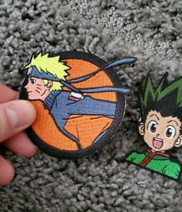 Naruto & Hunter X Hunter Iron-on Embroidered Patches