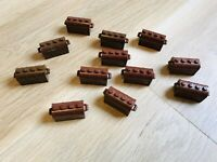 LEGO PARTS - x12 Container - Treasure Chest  - EXCELLENT CONDITION!