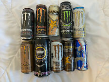 Energy Dosen Sammlung!! Rockstar!!! Monster!!