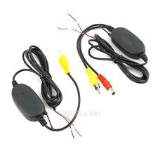 Wireless Transmitter Receiver for Car Reverse Rear View Camera Monitor 2.4GHZ