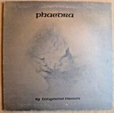 VINTAGE 33 1/3 LP-TANGERINE DREAM Phèdre-GATEFOLD-VIRGIN V2010 1974