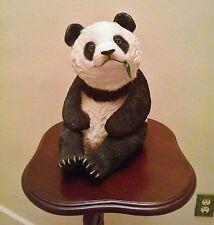 Rare Retired Sandicast Life-Size Panda Bear Cub-Signed-Sandra Brue