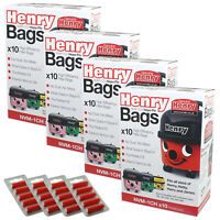Genuine Numatic HENRY Vacuum Hoover Bags Hetty Cleancare Hepa Flo Bag
