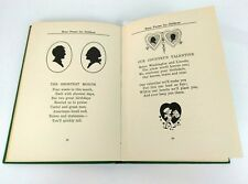 Antique Story Poems for Children Louise Oglevee Illustrated 1st Edition Book