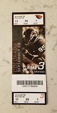 Oregon State Colorado Buffaloes Football Ticket 9/28 2013 Stub Scott Crichton