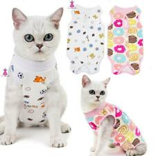 More details for pet puppy dog/cats recovery suit coat soft surgery wound protect vest clothes uk