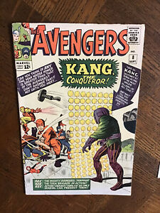 Avengers #8 (Marvel), 1st Appearance Kang The Conqueror, SIGNED BY DICK AYERS