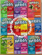 FOUR Boxes Of Wonka Nerds YOU CHOOSE Flavours Grape, Raspberry, Watermelon