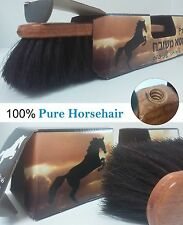 New! Quality Broom 100% Pure Horsehair Wooden Sweeper Floor Cleaning Brush ♞♘♞