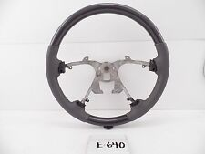 NEW GREY STEERING WHEEL LEATHER CARBON FIBER CHEVY EXPRESS VAN GMC SAVANNAH 08-