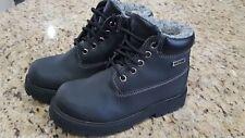 Boys SIZE 13 Black Work Boots~Smartfit~EXCELLENT~