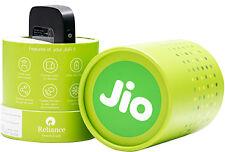 Reliance Jio 4G Wifi Portable Router HotSpot - JIO Fi  4G Portabal+jio SIM