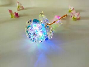 24K Gold Foil Rose Flower LED Luminous Galaxy Mother's Day Thanksgiving Day Gift