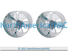 """2x 10"""" Round In-Line Air Duct Booster Fan 115 Volt T9-MCM10 T9-DB10 DB10 650 CFM"""