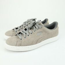 PUMA Mens Basket Classic Embossed Wool Shoes Steel Gray Size US 6 EU 38 pl4
