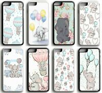 Disney Dumbo Baby Floral Watercolour Hard Case Cover for iPhone 5 SE 6 7 8 X XR