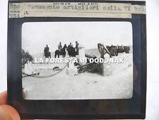 FOTO MILITARE GUERRA LIBIA 1911 AFRICA ARTIGLIERIA 6 BRIGATA ITALO TURCA COLONIE