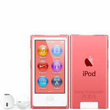 NEW! Apple iPod nano 7th Generation Pink (16 GB) MP3 Player - 90 Days Warranty
