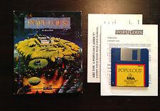 Populous - Commodore Amiga - komplett (Electronic Arts) Bullfrog Game Spiel