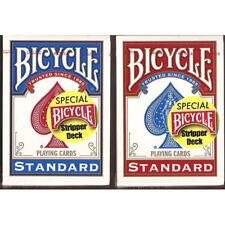Carte Bicycle Mazzo Conico Stripper Deck Blue - Prestigio e magia