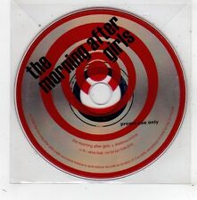(FV633) The Morning After Girls, Shadows Evolve - 2006 DJ CD