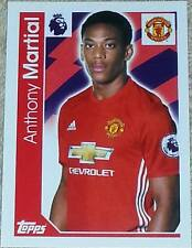 200 Anthony Martial MAN UNITED 2016/2017 Topps Merlin Premier League sticker