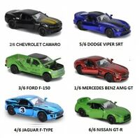 Limited Edition Serie 4 Majorette 212054014 Nissan GT-R verde Glow in the Dark