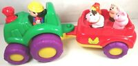 John Lewis Musical Farm Tractor and Trailer - Animal Sounds and Tractor Sound