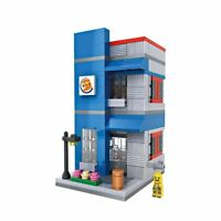 Street View Mini Burger King LOZ Diamond Building Blocks iBlock Fun b GTC