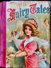 FAVORITE FAIRY TALES~Antique Victorian Children's Picture Story Book Cinderella