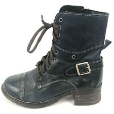 TAOS Footwear SINGLE BOOT ONLY Left Shoe Amputee Lace Up Combat Blue 6 6.5 37