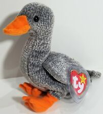 "TY Beanie Babies ""HONKS"" the GOOSE Bird - MWMTs! RETIRED! PERFECT GIFT! NEW!"