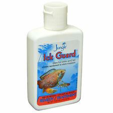 JUNGLE ICK GUARD 2 OZ FISH AQUARIUM REMEDY. CLEARS ICK WHITE SPOTS FAST REMEDY