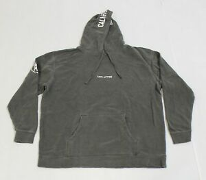 Barstool Sports Men's I Am Unwell Call Her Daddy Hoodie SV3 Gray Size 2XL