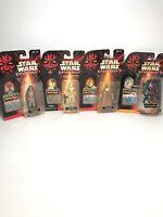 Star Wars Episode 1 Action Figures 1998 Lot Of 4