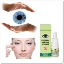 5X Schwabe Cineraria Maritima W/Alcohol Eye Care Safe Drops 10Ml 100% ORIGINAL