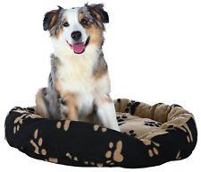Trixie Dog Sammy Bed black/beige 50cm attached cushion prevent slipping 37681