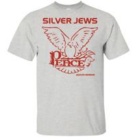New T-Shirt 2019 David Berman Silver Jews Peace Logo Vintage Tee Black MEN S-5XL