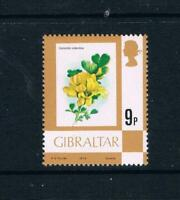 Gibraltar - 1978 - 9p Flowers Issue - Caulk Paper - SC 348v [SG 382a] MNH 20