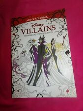 Art of Coloring: Disney Villains : 100 Images to Inspire Creativity. New.