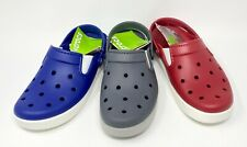 Crocs Citilane Clog Mens Size 7 Womens size 9 Cerulean Blue, Pepper Red or Gray