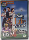 New & Sealed The Sims Life Stories Game Pc Windows Cd-rom Computer Software 2007