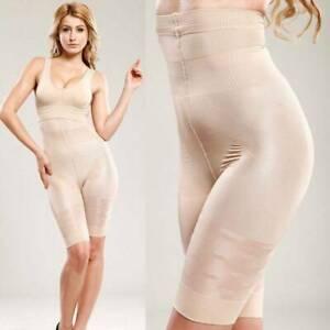 High Waist Pants Easy Body Shaper Control Tummy Shape Thigh Shapewear Underwear