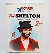 TV Classics RED SKELTON Two DVD Set 8 Episodes B&W Over 6 Hours Comedy Funny