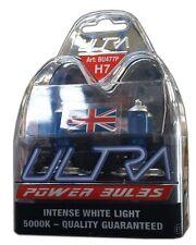 2 H7 Ultra Power Bright 5000k Xenon Gas White Car Headlight Headlamp Bulbs 1pair