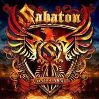 SABATON - COAT OF ARMS (BLACK VINYL)  VINYL LP NEW+